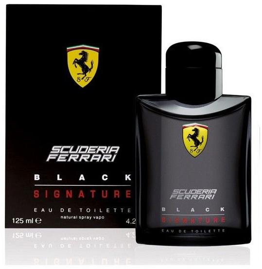 Ferrari Scuderia Ferrari Black Signature - Туалетная вода