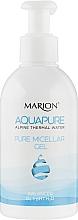 Духи, Парфюмерия, косметика Очищающий мицеллярный гель для умывания с термальной водой - Marion Aquapure Pure Micellar Gel