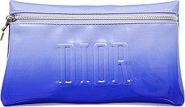 Духи, Парфюмерия, косметика Косметичка, синяя - Dior Make-up Ponche