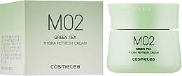 Духи, Парфюмерия, косметика Крем для лица с освежающим эффектом - Cosmetea M02 Green Tea Hydra Refresh Cream