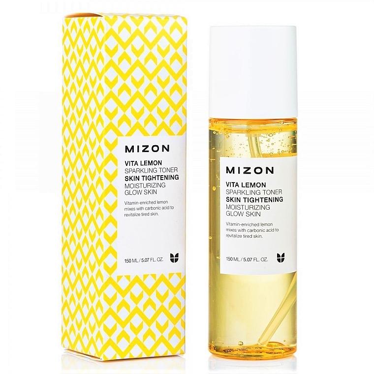 Осветляющий тонер - Mizon Vita Lemon Sparkling Toner