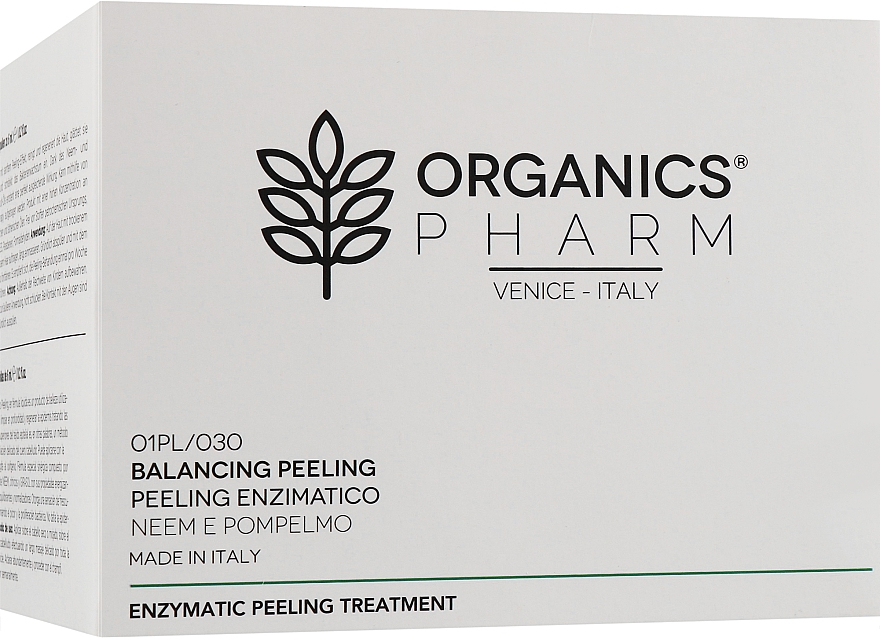 Энзиматический пилинг - Organics Cosmetics Pharm Peeling Enzimatico