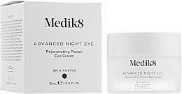 Духи, Парфюмерия, косметика Ночной восстанавливающий крем вокруг глаз - Medik8 Advanced Night Eye