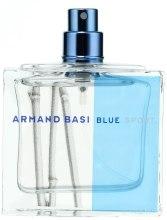 Парфумерія, косметика Armand Basi Blue Sport - Туалетна вода (тестер без кришечки)