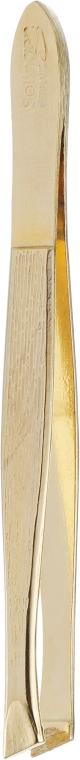 Пинцет для бровей со скошенными краями 06-0531 - Niegelon Solingen