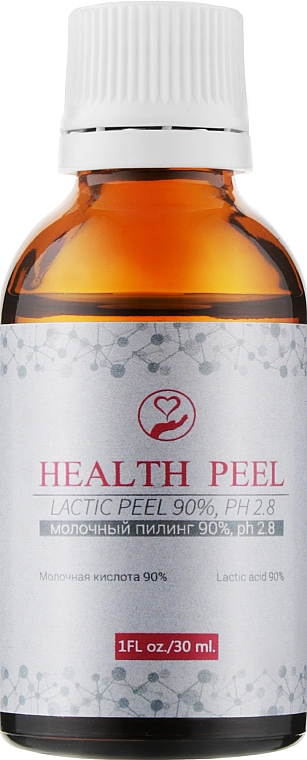 Молочный пилинг - Health Peel Lactic Peel 90%, рН 2.8