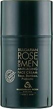 Духи, Парфюмерия, косметика Антивозрастной крем для мужчин - Bulgarska Rosa For Men Anti-Agin Face Cream