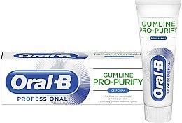 Духи, Парфюмерия, косметика Зубная паста - Oral-B Professional Gumline Pro-Purify Deep Clean Toothpaste