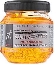 Духи, Парфюмерия, косметика Гель для волос экстрасильной фиксации - IT Extra Strong Hold Styling Gel Volume Express Marigold