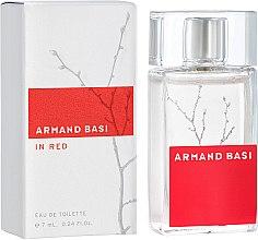 Парфумерія, косметика Armand Basi In Red - Туалетна вода (міні)