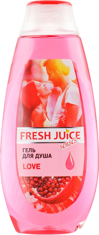 "Гель для душа ""Love"" - Fresh Juice Shower Gel"