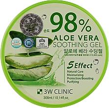 Духи, Парфюмерия, косметика Гель с алоэ 98% - 3W Clinic Aloe Vera Soothing Gel