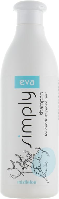 Шампунь против перхоти с экстрактом омелы - Eva Simply Shampoo