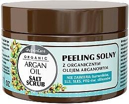Духи, Парфюмерия, косметика Солевой пилинг с аргановым маслом - GlySkinCare Argan Oil Salt Scrub