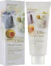 """Духи, Парфюмерия, косметика Крем для рук с оливой """"Мягкость и увлажнение"""" - 3W Clinic Olive Hand Cream"""