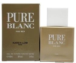 Духи, Парфюмерия, косметика Geparlys Karen Low Pure Blanc - Туалетная вода (тестер с крышечкой)