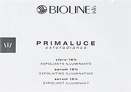 Духи, Парфюмерия, косметика Сыворотка 15% с AHA кислотами - Bioline Jato Primaluce Exforsdiance Serum 15% Exfoliating Illuminating (пробник)