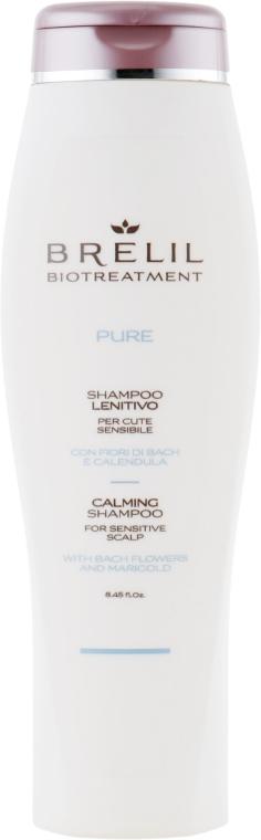 Шампунь восстанавливающий для чувствительной кожи - Brelil Bio Traitement Pure Calming Shampoo