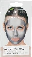 Духи, Парфюмерия, косметика Маска с содержанием металлов для смешанной и жирной кожи - Bielenda Silver Detox