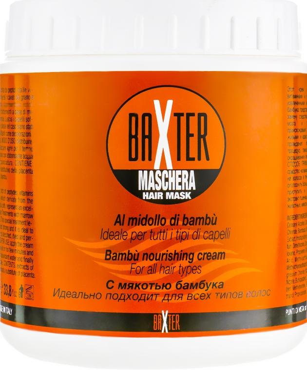Маска с вытяжкой из сердцевины бамбука - Punti di Vista Baxter Maschera Hair Mask