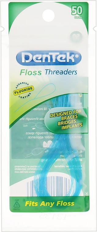 Направители флосса - DenTek Floss Threaders