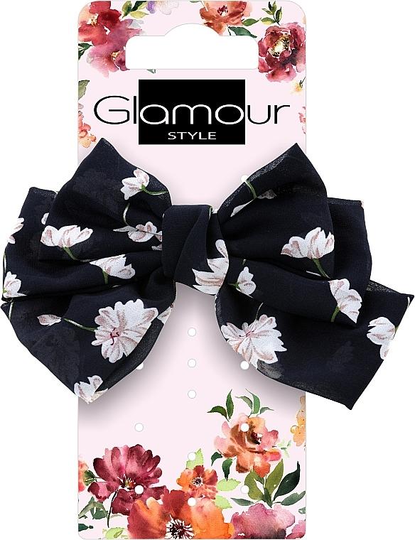 Резинка для волос, 417623, черная - Glamour
