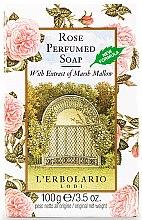 """Духи, Парфюмерия, косметика Мыло для тела """"Роза"""" - L'Erbolario Bagnoschiuma Al Profumo Di Rosa"""