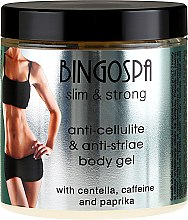 Духи, Парфюмерия, косметика Антицеллюлитный гель для тела - BingoSpa Slim and Strong Anti Cellulite and Anti Stirae Body Gel