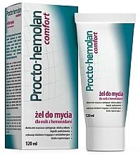 Духи, Парфюмерия, косметика Очищающий гель при геморрое - Aflofarm Procto-Hemolan Comfort Cleaning Gel
