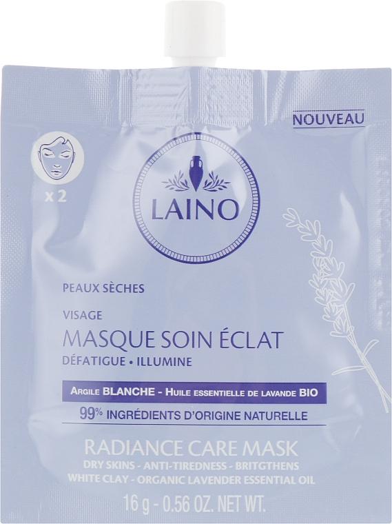 Очищающая маска для лица - Laino Radiance Care Mask White Clay — фото N1