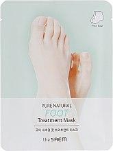 Духи, Парфюмерия, косметика Маска для ног - The Saem Pure Natural Foot Treatment Mask