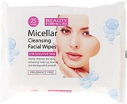 Духи, Парфюмерия, косметика Очищающие мицеллярные салфетки - Beauty Formulas Micellar Cleansing Facial Wipes