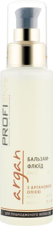 Бальзам-флюид с маслом Арганы для поврежденных волос - Profi style