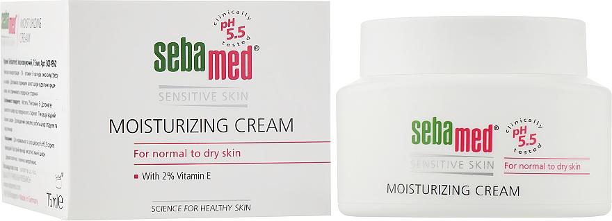 Увлажняющий крем - Sebamed Moisturing Face Cream Sensitive Skin