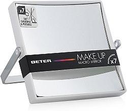 Духи, Парфюмерия, косметика Зеркало складное двустороннее с x7 увеличением, белое - Beter Viva Make Up Macro Mirror