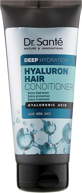 Бальзам для глубокого увлажнения волос - Dr. Sante Hyaluron Hair Deep Hydration