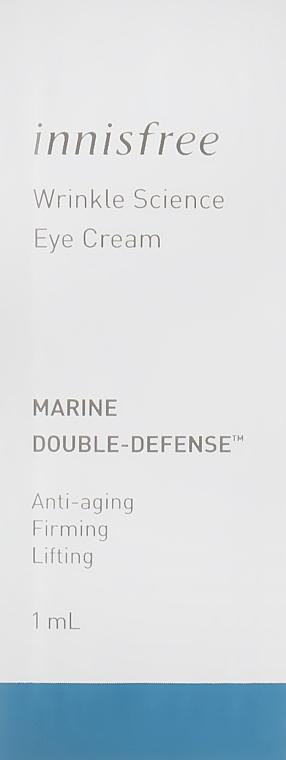 Крем для кожи вокруг глаз на основе морских водорослей - Innisfree Eco Science Eye Cream (пробник)