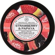 "Духи, Парфюмерия, косметика Крем для тела ""Клубника и папайя"" - Tropical Fruits Body Cream"