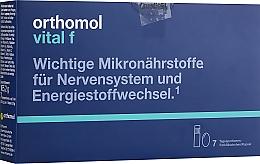 Духи, Парфюмерия, косметика Витамины флакон + капсулы(7 дней) - Orthomol Vital F