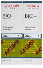 Духи, Парфюмерия, косметика Набор от выпадения волос для мужчин - Cutrin BIO+ Stimulant (shamp/200ml + serum/150ml)