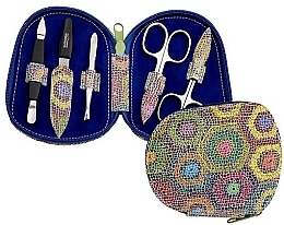 Духи, Парфюмерия, косметика Маникюрный набор для ногтей - DuKaS Premium Line Manicure Set 5-piece PL 111FP