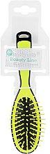 Духи, Парфюмерия, косметика Щетка прямоугольная, 413971, маленькая, желтая - Beauty Line