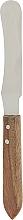 Духи, Парфюмерия, косметика Шпатель для депиляции металлический с деревяной ручкой 01419 - Eurostil