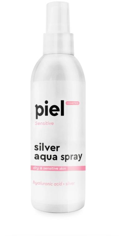 Увлажняющий спрей для сухой и чувствительной кожи - Piel Cosmetics Silver Aqua Spray