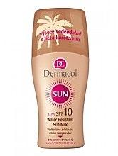 Духи, Парфюмерия, косметика Молочко для тела - Dermacol Sun Milk SPF 10