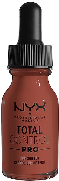 Капли для корекции оттенка тональной основы - NYX Professional Makeup Total Control Pro Hue Shifter