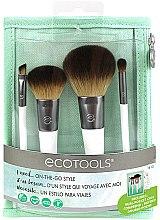 Духи, Парфюмерия, косметика Набор кистей для макияжа, 4шт. - EcoTools On-The Go Style
