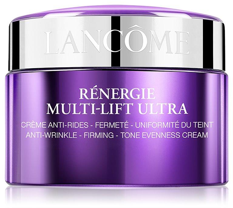 Антивозрастной крем для лица с эффектом лифтинга - Lancome Renergie Multi-Lift Ultra Full Anti-Wrinkle Firming Tone Evenness Cream