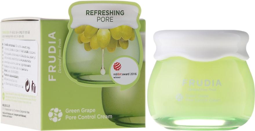 Себорегулирующий крем для лица - Frudia Pore Control Green Grape Cream