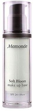 База под макияж - Mamonde Soft Bloom Make Up Base SPF24 PA++ — фото N2